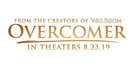 Overcomer Movie Tickets - Opening Night w/Christ Community Church tickets