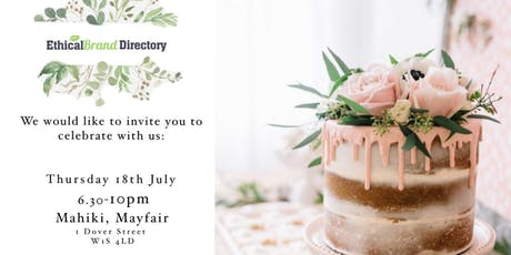 Ethical Brand Directory 2nd Birthday: Ethical Fashion Panel & Party  tickets