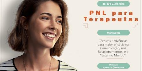 PNL para Terapeutas ingressos