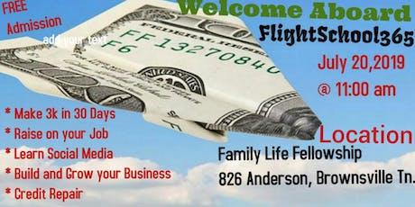 Flight School 365 tickets