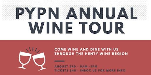 PYPN Wine Tour