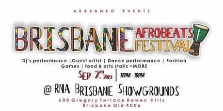 BRISBANE  AFROBEATS  FESTIVAL tickets