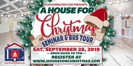 House for Christmas Seminar and Tour tickets