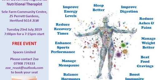 Microbiome Gut Health Talk