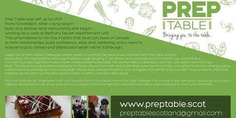 Prep Table Tea Party Launch with NHS Lothian tickets