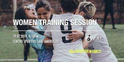 Women Training Session With Valentina Bergamaschi e Anastasia Bagaglini