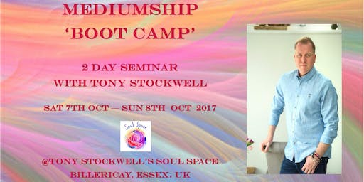 Mediumship Boot Camp- 2 Day Seminar with Tony Stockwell