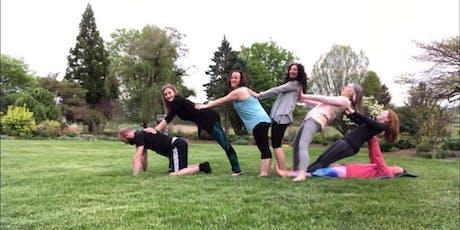 WineDown Yoga - An End of Summer Vinyasa & Vino Event! tickets