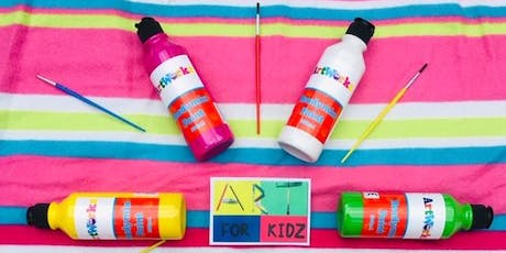 Reserve ticket, pay on the day - Art for Kidz Club: Summer Painting Fun tickets