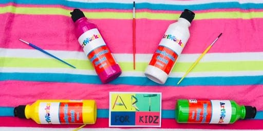Reserve ticket, pay on the day - Art for Kidz Club: Summer Painting Fun