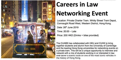 Cambridge University Asia Business Society law networking event