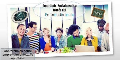 Como contribuir Socialmente a través del Emprendimiento   entradas