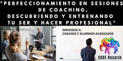 Perfeccionamiento en sesiones para Coaches.