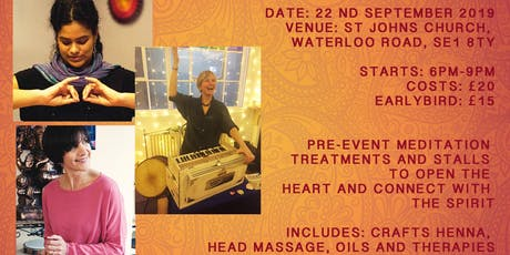 Sacred Sounds with Sivani Mata, Nikki Slade, Emma Goldie & Friends tickets