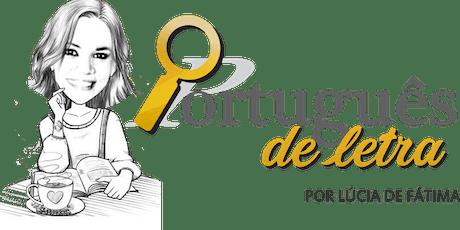 Mentoria Português de letra (desconto exclusivo) ingressos