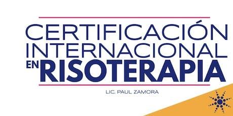 Certificación Internacional en Risoterapia entradas