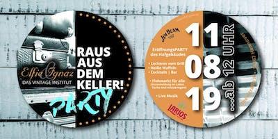 Raus aus dem Keller! Party mit Flohmarkt, Musik & Mehr