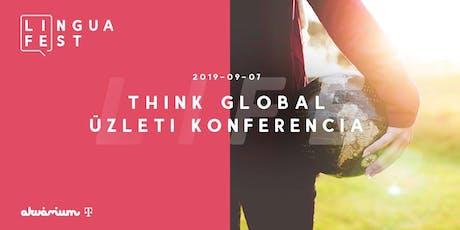 Think Global Workshop - a nemzetközi piacralépéshez tickets