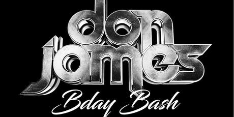 Don James Birthday Bash - at Club Villa Thalia tickets