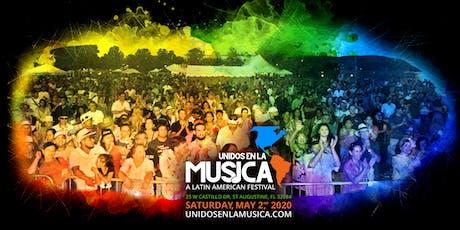 Unidos En La Música: A Latin American Festival 2020 tickets