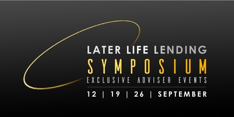 Later Life Lending Symposium (London - AiR) tickets