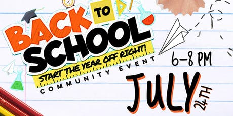 Back to School Community Event tickets