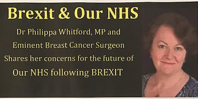 Dr Philippa Whitford Shares her Concerns for our NHS following BREXIT