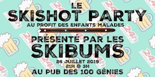 LE SkiShot PARTY au profit du 24h Tremblant