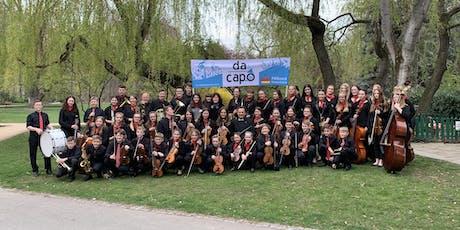 """Sinfonieorchester """"da capo"""" auf Konzertreise Tickets"""