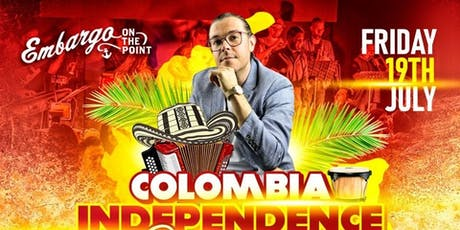 Colombian Independence Celebration at Embargo Bar tickets