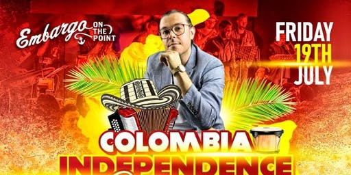 Colombian Independence Celebration at Embargo Bar