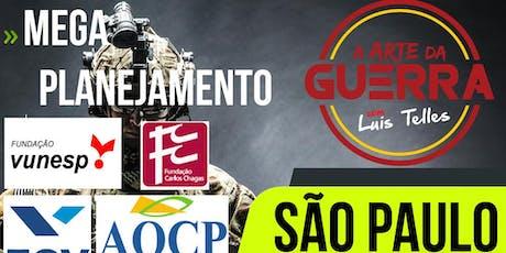 SÃO PAULO-SP   ARTE DA GUERRA - MEGA PLANEJAMENTO ingressos