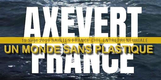 Axevert France conférence:  un monde sans plastique