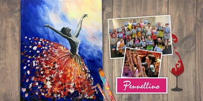 Paint & Fun Evening: Ballerina