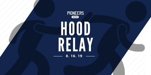 PIONEERS, run crew Hood Relay