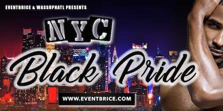 NYC BLACK PRIDE 2019 - EVENTBRICE & WASSUPNATL - 7 EVENTS tickets