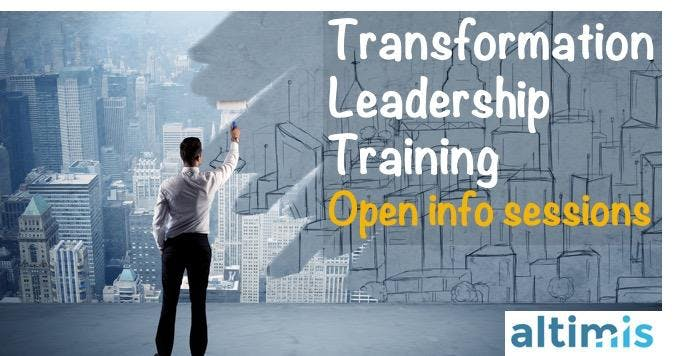 Transformation Leadership Training - Open info sessions