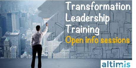 Transformation Leadership Training - Open info sessions tickets