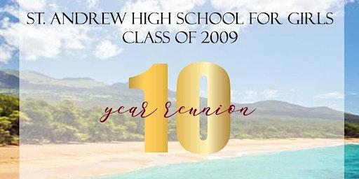 SAHS Class of 2009 Reunion