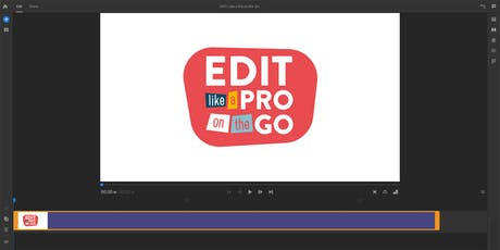 Edit Like a Pro on the Go tickets