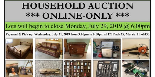 ONLINE-ONLY AUCTION - pick up in Morris, IL