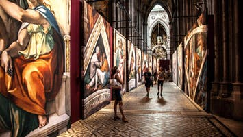 Michaelangelo's Sistine Chapel