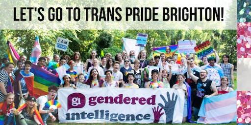 Gendered Intelligence Trip to Trans Pride Brighton