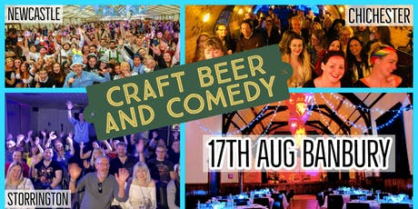 Craft Beer and Comedy Special - Banbury tickets