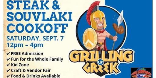 Grilling Up Greek Steak Cookoff and Vendor Fair