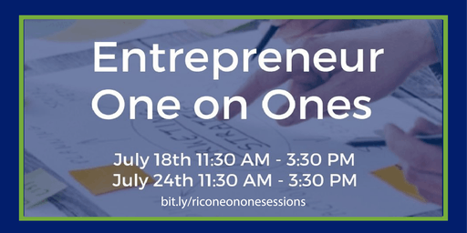 One on One Sessions: Share Your Entrepreneurial Story