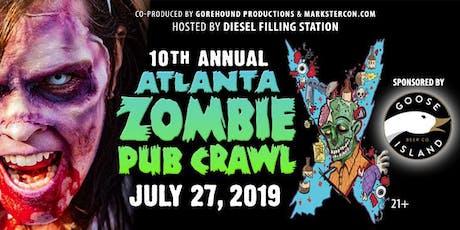 Atlanta ZOMBIE PUB CRAWL (10th Annual) tickets