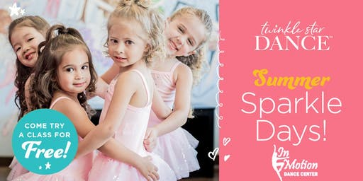 Sparkle Day! Try a dance class for FREE