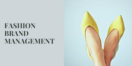 Fashion Brand Management 1:1 Workshop tickets
