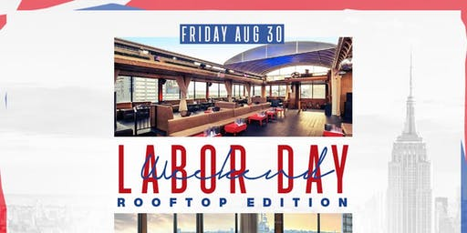 Labor Day Weekend Reggae Afrobeats and Hip Hop at Hudson Terrace